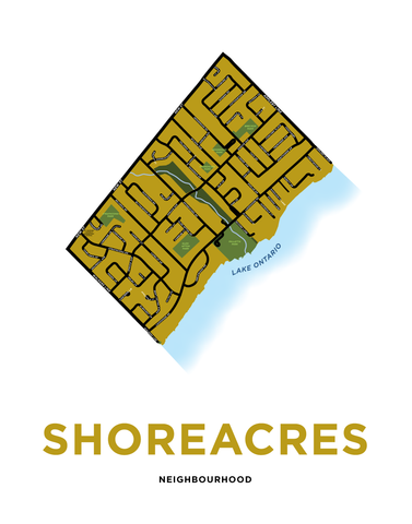 Shoreacres Neighbourhood Map