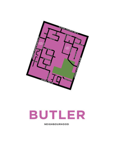 Butler Neighbourhood Map