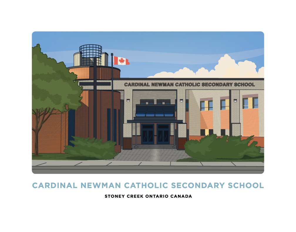 Cardinal Newman Catholic Secondary School Illustration