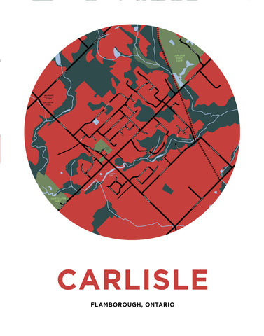 Carlisle Map