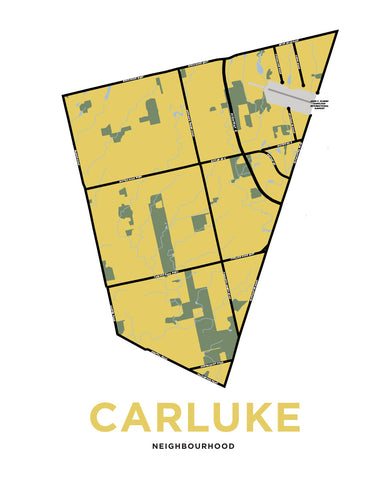 Carluke Neighbourhood Map
