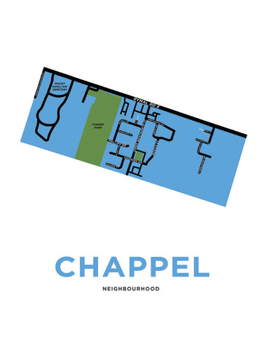 Chappel Neighbourhood Map