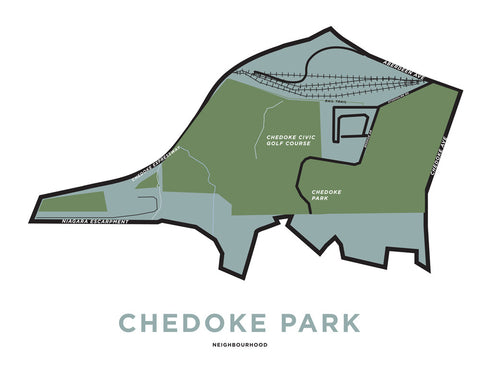 Chedoke Neighbourhood Map