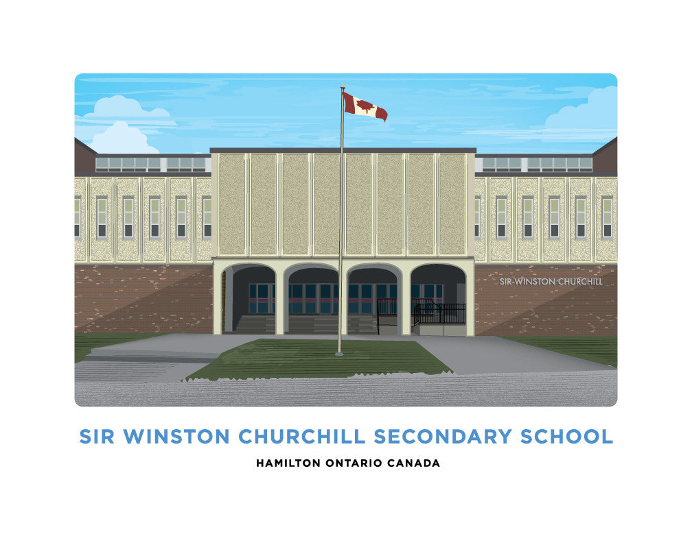 Sir Winston Churchill Secondary School Print