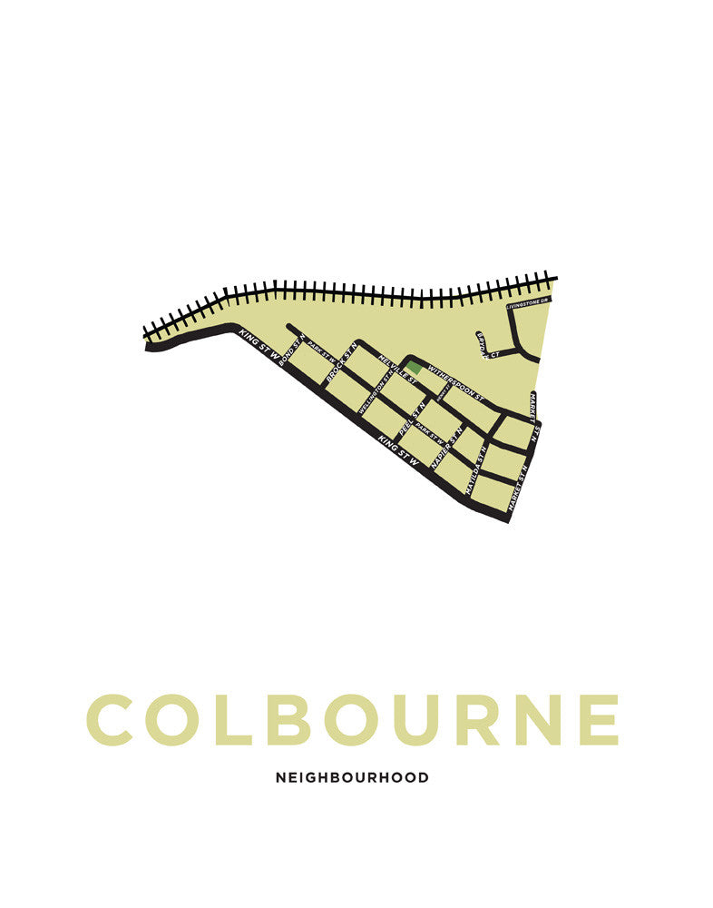 Colborne Neighbourhood Map