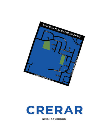 Crerar Neighbourhood Map