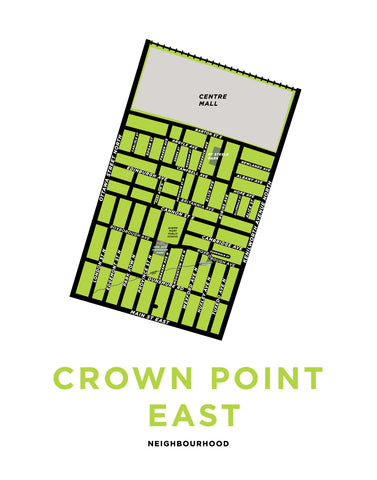 Crown Point East Neighbourhood Map