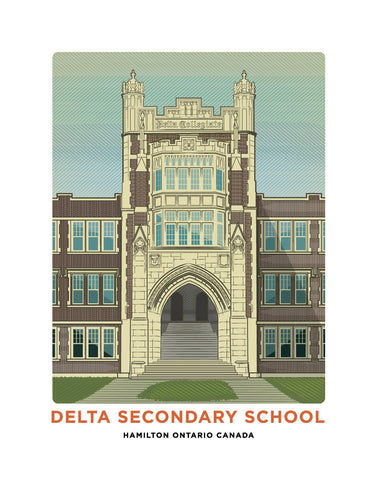 Delta Secondary School Print