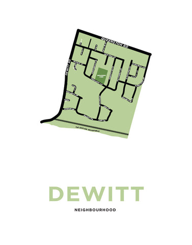 Dewitt Neighbourhood Map