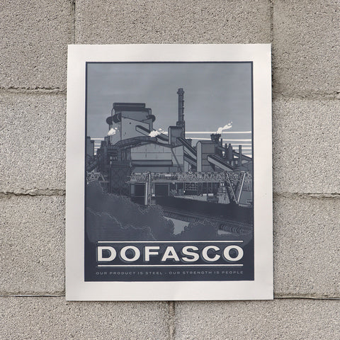 Dofasco Screen Printed Poster