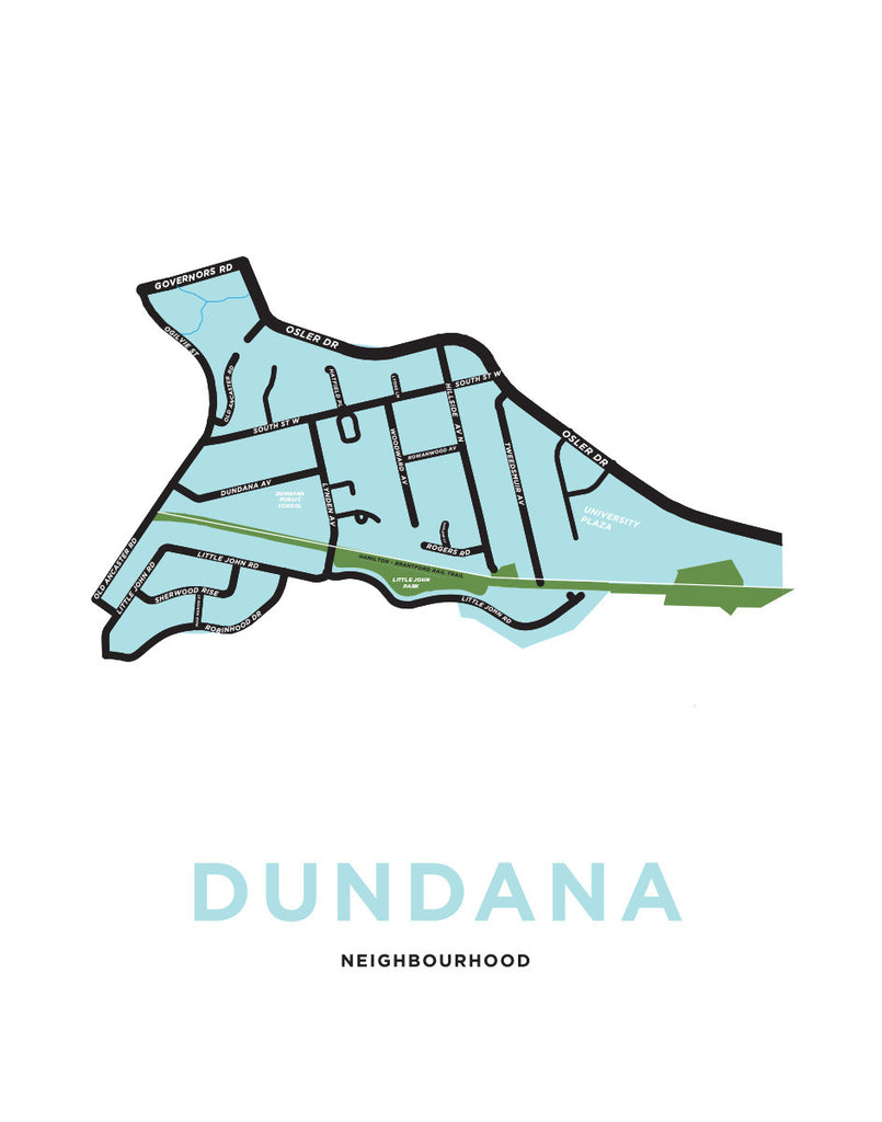 Dundana Neighbourhood Map