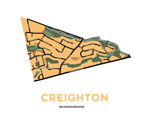 Creighton Neighbourhood Map