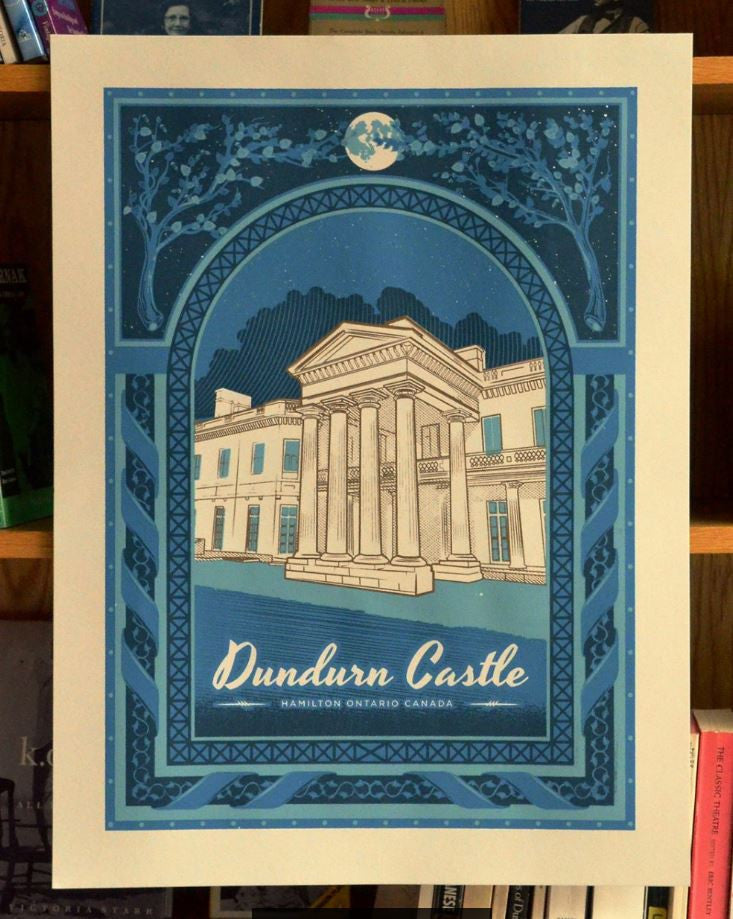 "Dundurn Castle 18x24"" Screen Print"