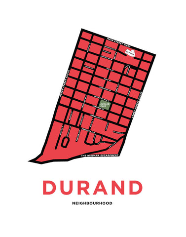 Durand Neighbourhood Map