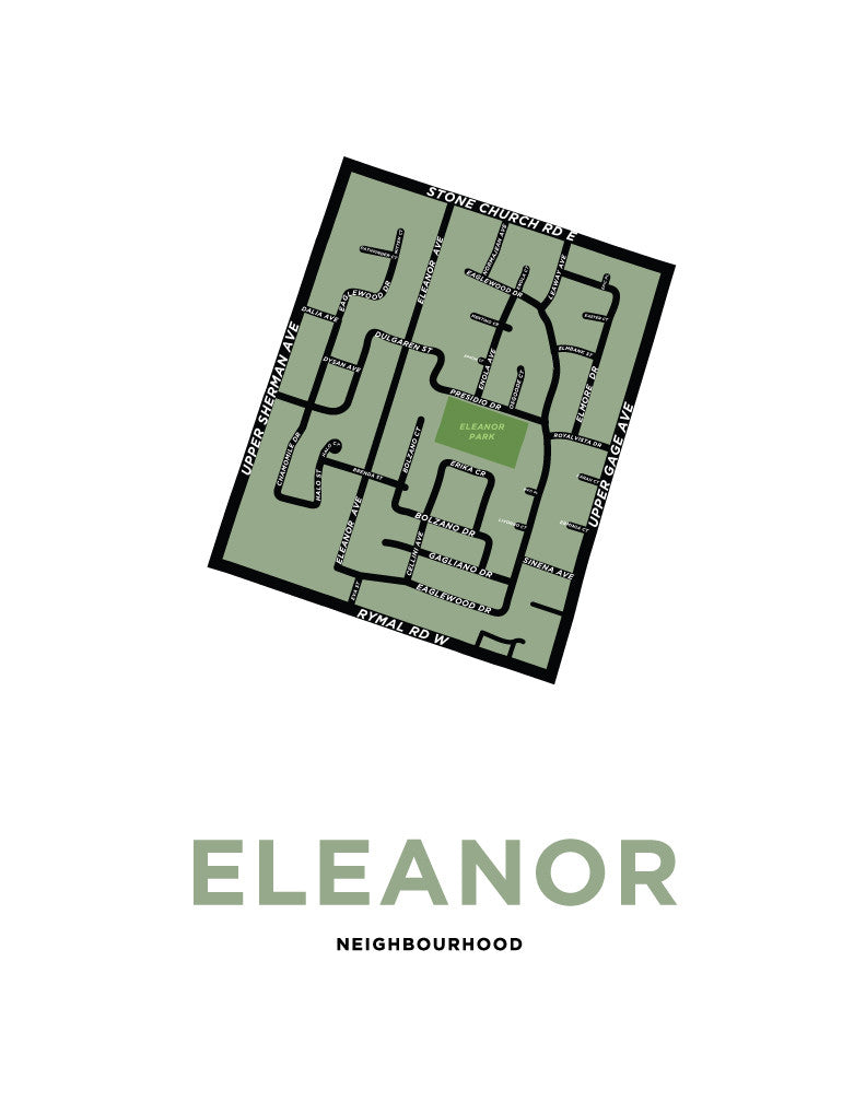 Eleanor Neighbourhood Map