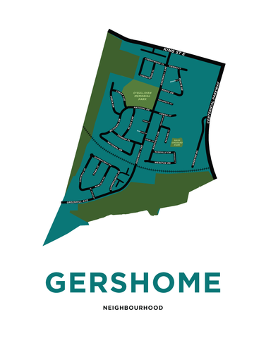 Gershome Neighbourhood Map