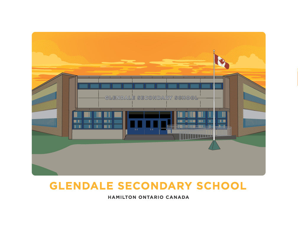 Glendale Secondary School Print