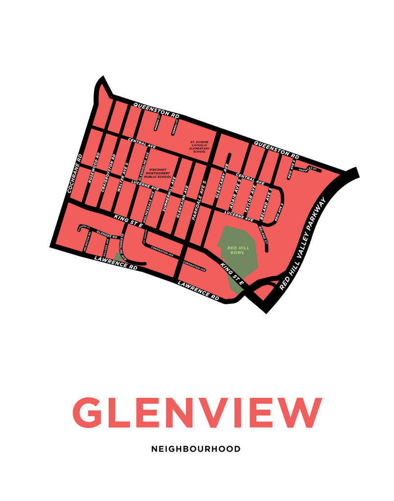 Glenview Neighbourhood Map