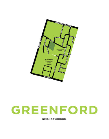 Greenford Neighbourhood Map
