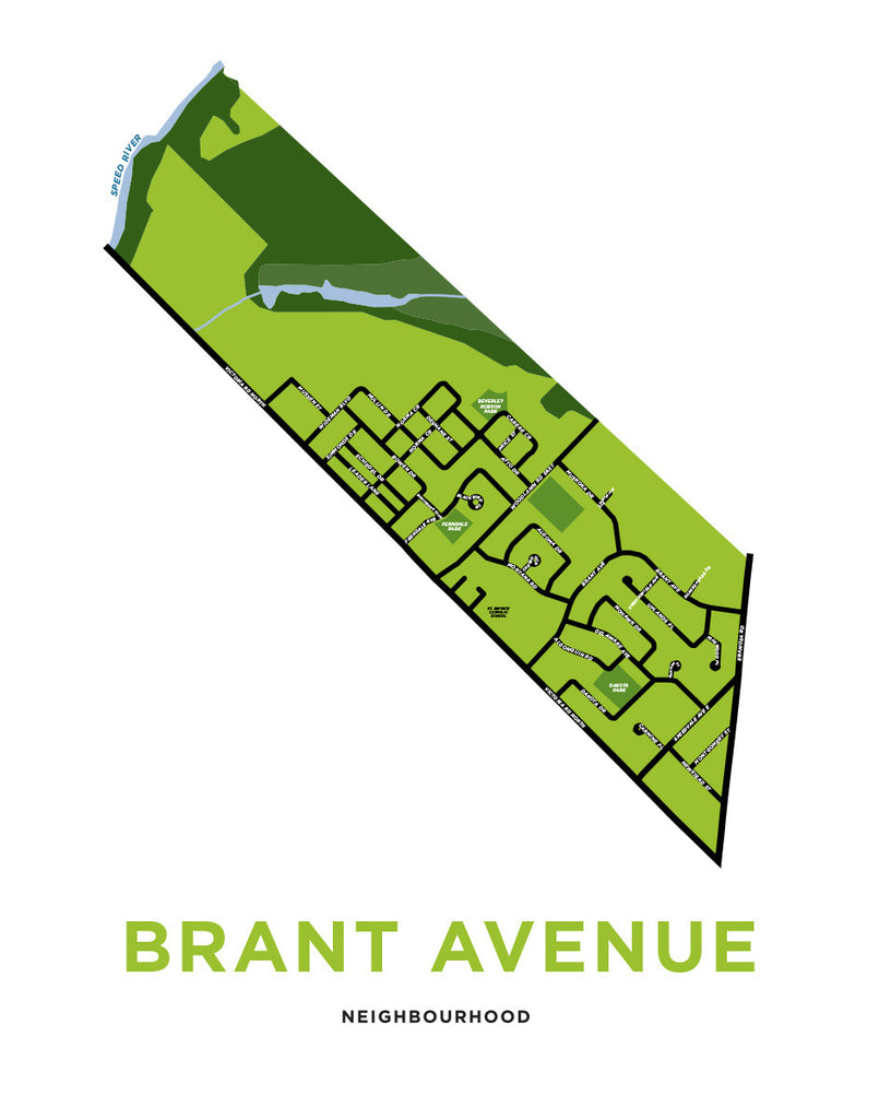 Brant Avenue Neighbourhood Map