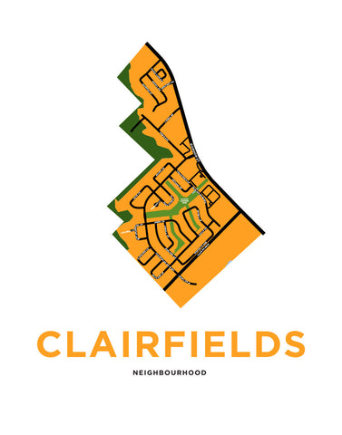 Clairfields Neighbourhood Map