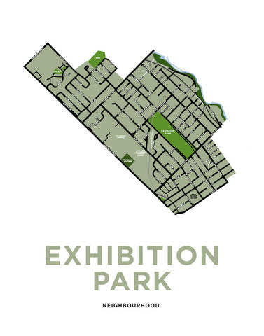 Exhibition Park Neighbourhood Map