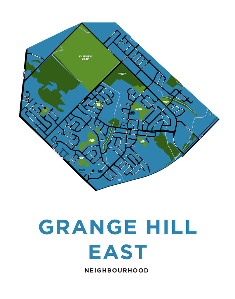 Grange Hill East Neighbourhood Map