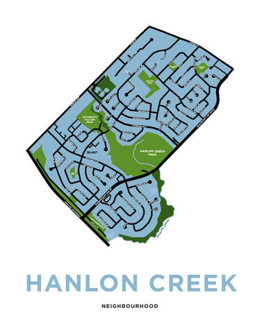 Hanlon Creek Neighbourhood Map