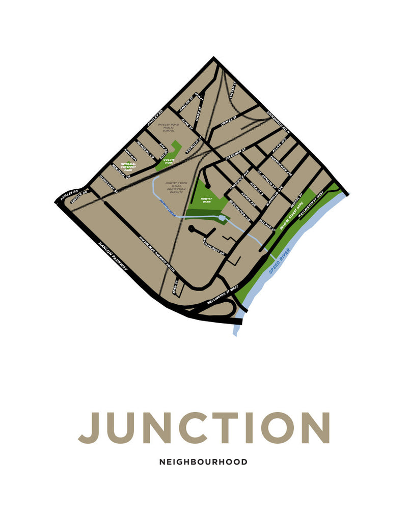 Junction Neighbourhood Map