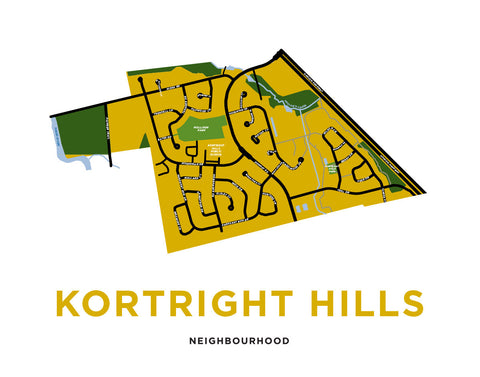 Kortright Hills Neighbourhood Map
