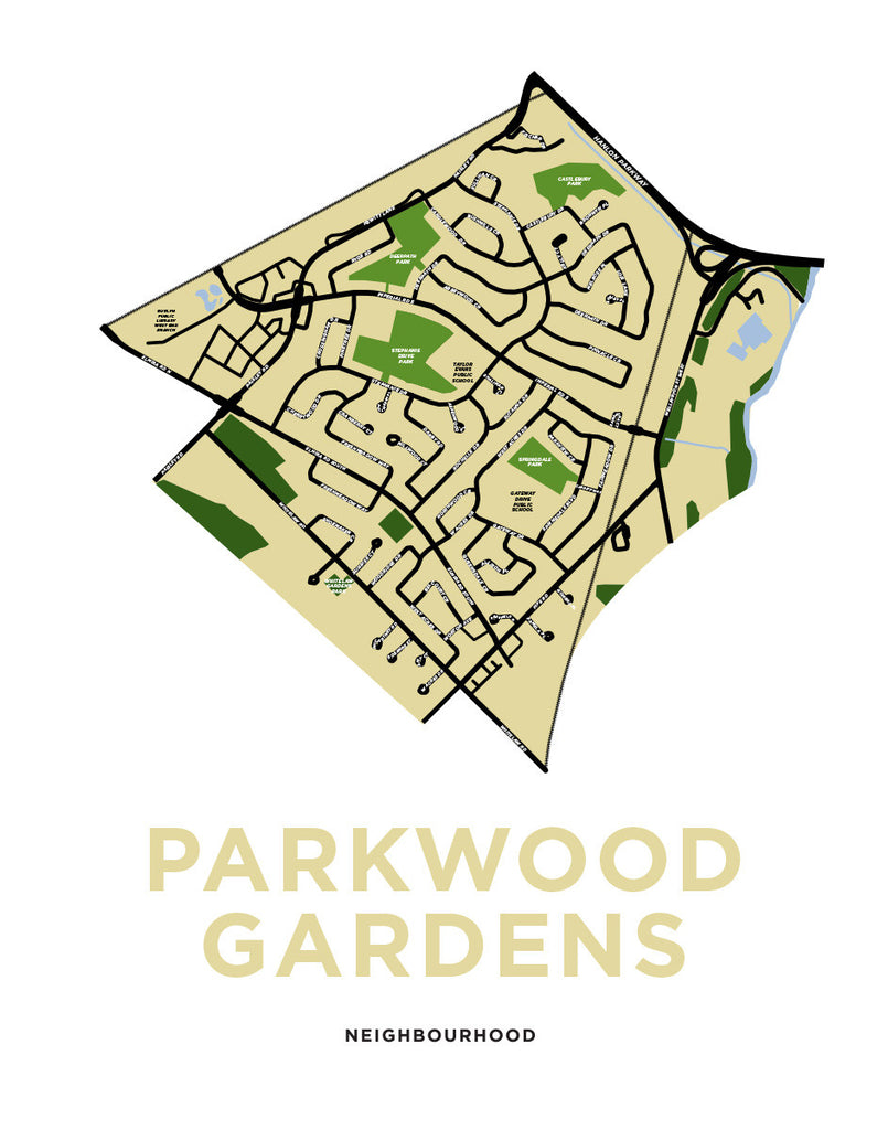 Parkwood Gardens Neighbourhood Map