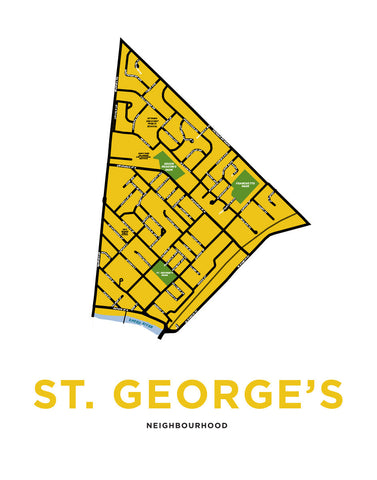 St. George's Neighbourhood Map