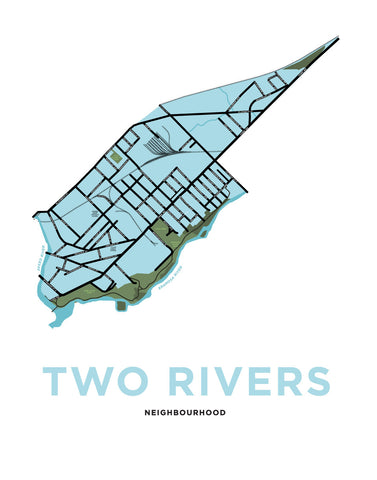 Two Rivers Neighbourhood Map