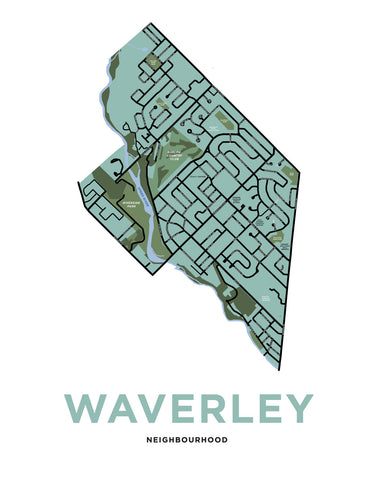 Waverley Neighbourhood Map