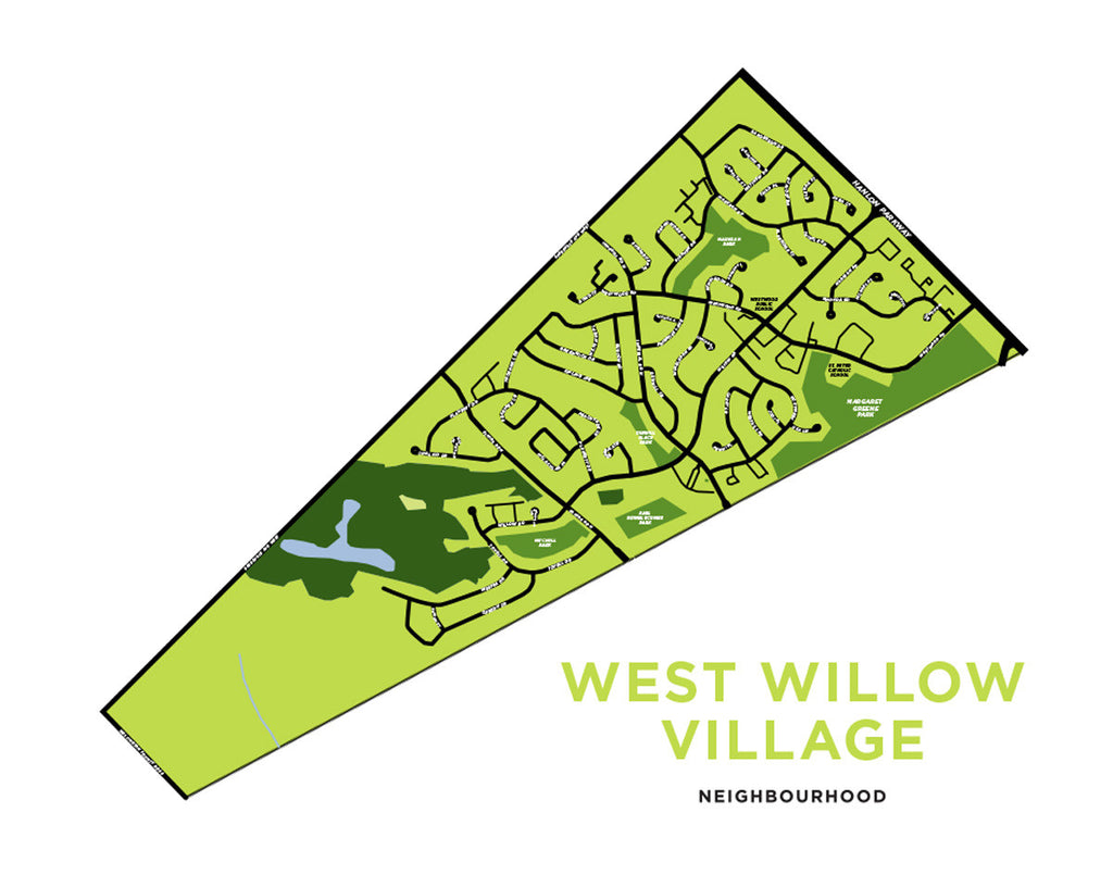 West Willow Village Neighbourhood Map