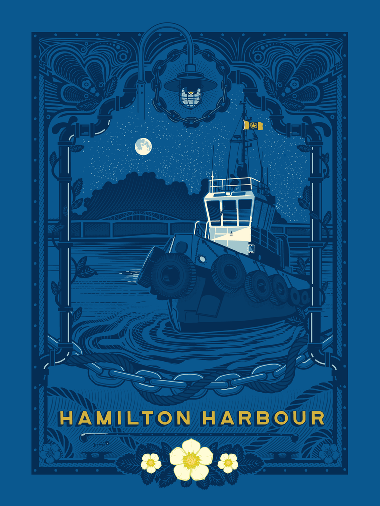 Hamilton Harbour Digital Print