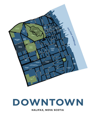 Downtown Halifax Neighbourhood Map