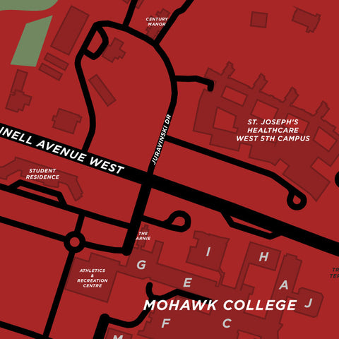 Mohawk Neighbourhood Map