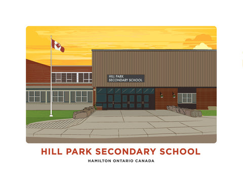 Hill Park Secondary School Print