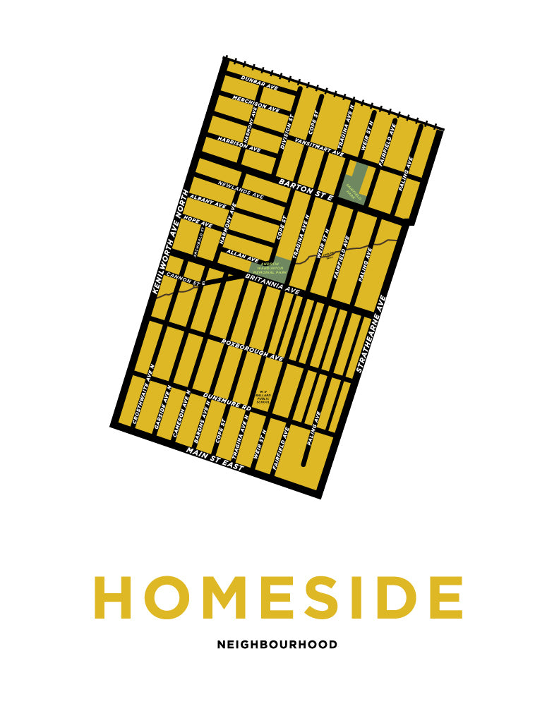 Homeside Neighbourhood Map