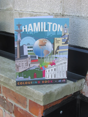 Hamilton Colouring Book
