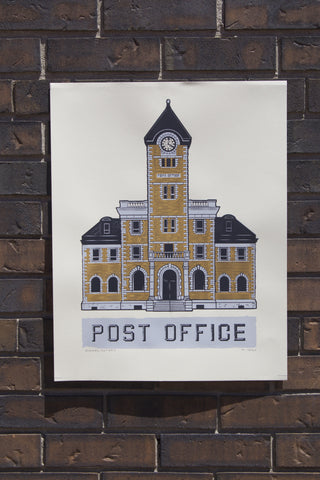 Dundas Post Office Screen Print