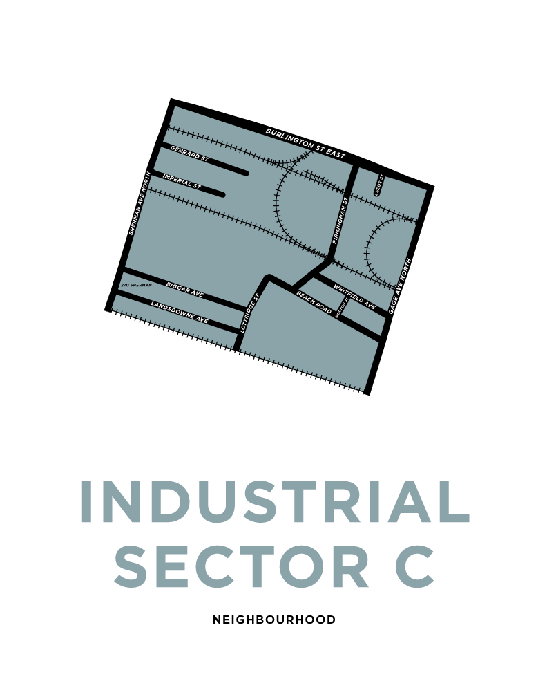 Industrial Sector C Neighbourhood Map