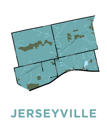 Jerseyville Map
