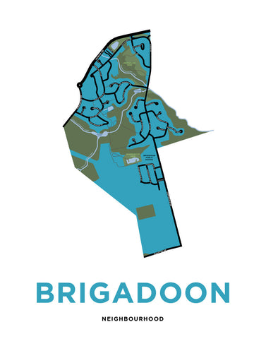 Brigadoon Neighbourhood Map (Kitchener)