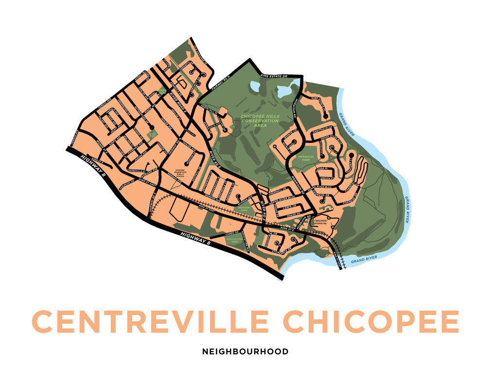 Centreville Chicopee Neighbourhood