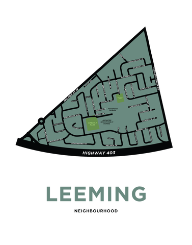 Leeming Map