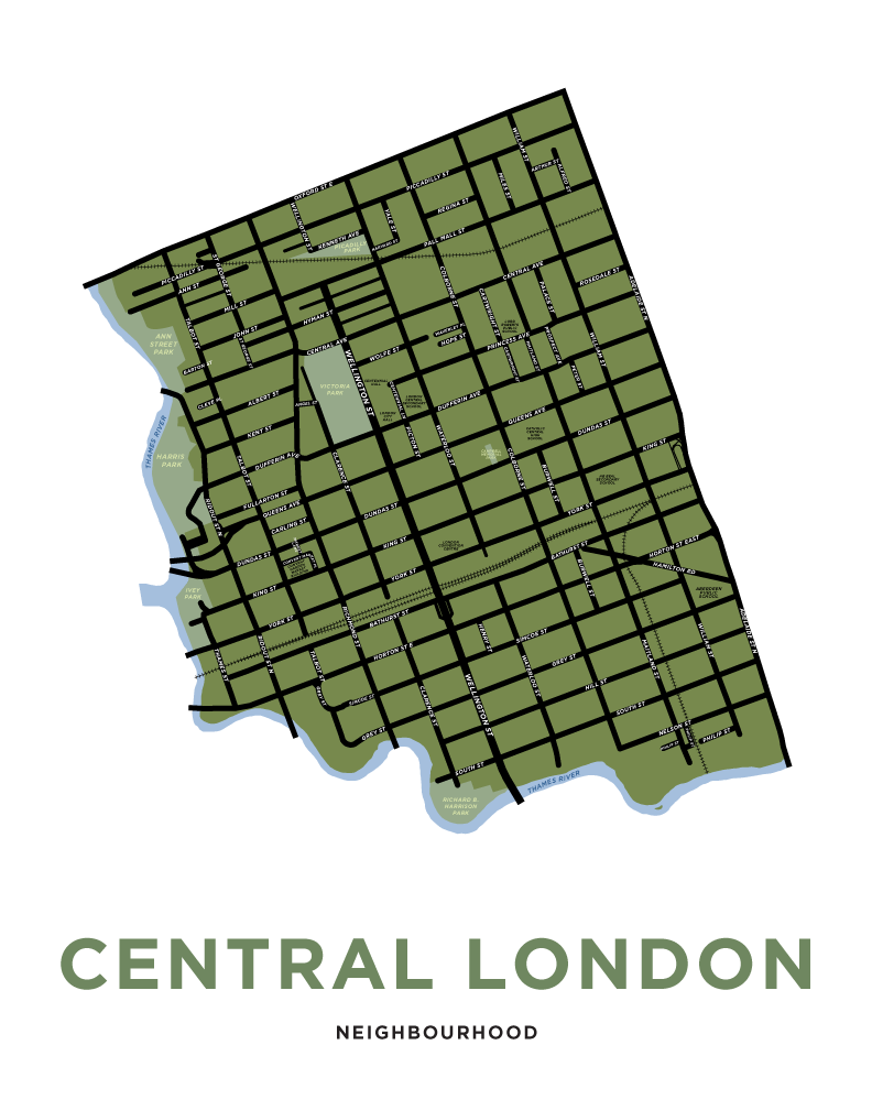 London - Central Neighbourhood Map