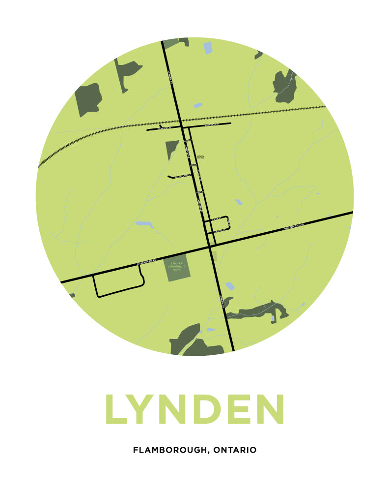 Lynden Map
