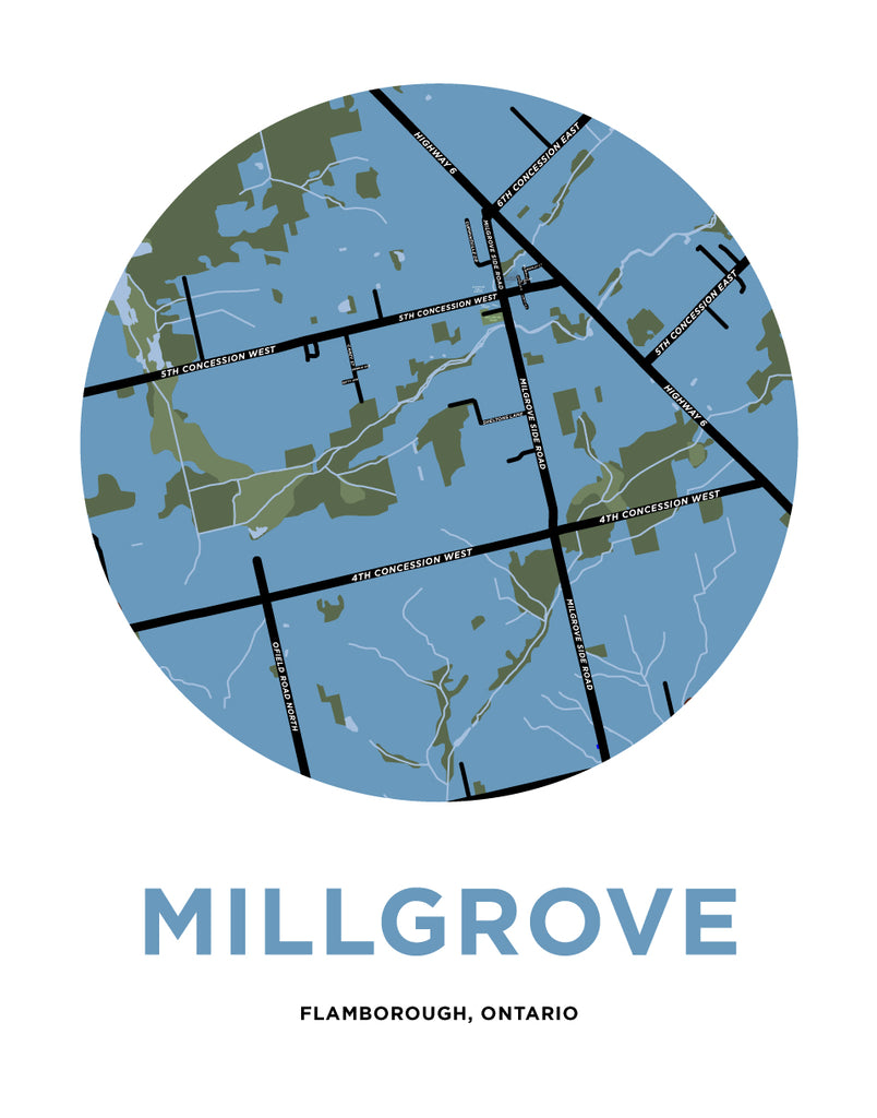 Millgrove Map